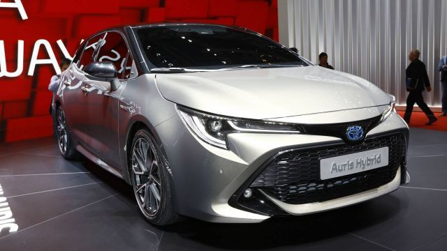 2019 Toyota Auris Hybrid Presented At Geneva Motor Show New Car