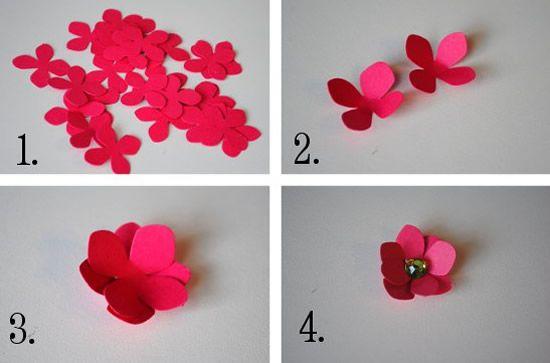 5 Tipos Diferentes De Flores De Papel Para Decoração