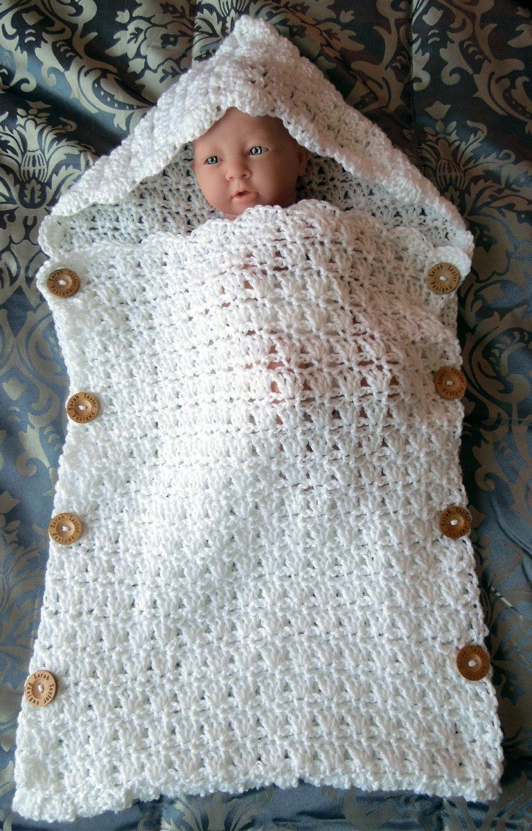 Sleeping Sack Crochet Pattern, Sleep Sack Newborn, Sleep Sack for ...
