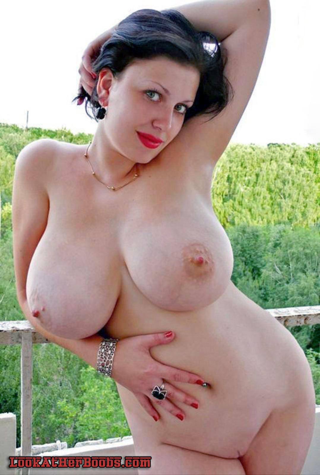 Huge natural tits nude-2289