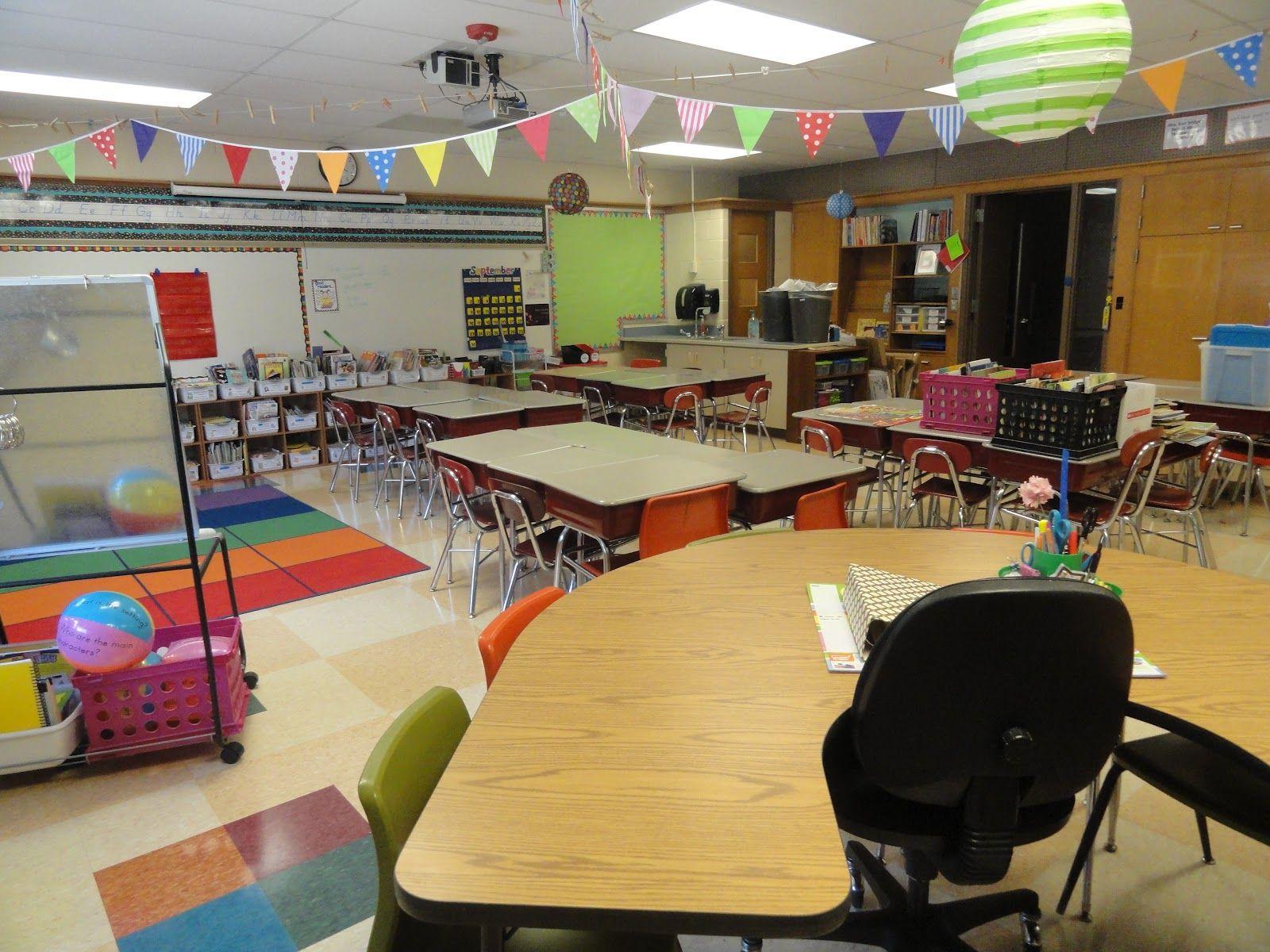 3rd Grade Classroom Set Up