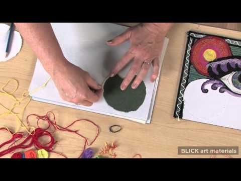 String Painting - Lesson Plan