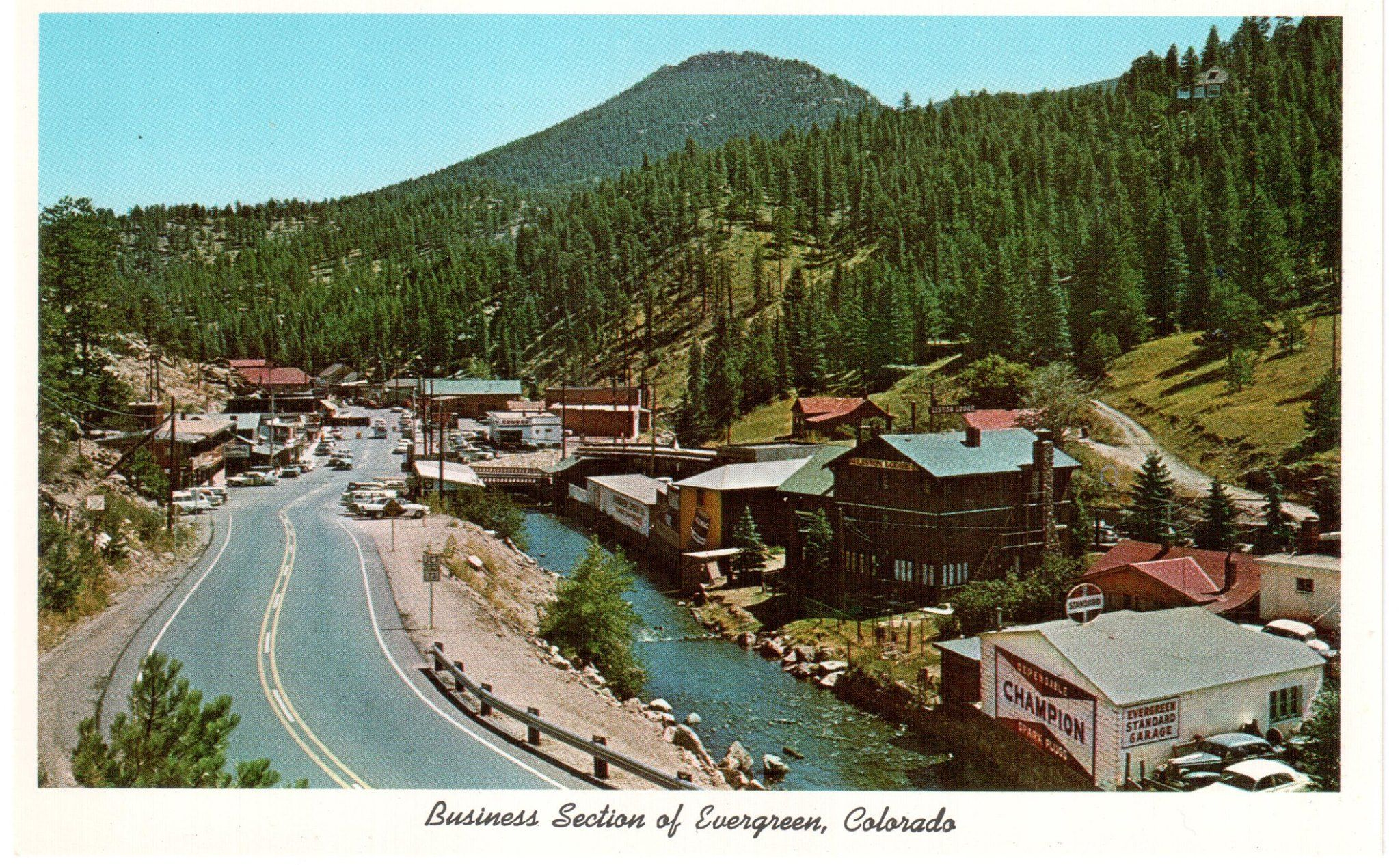 Evergreen In The Early 1960 S Denver Mountain Parks Evergreen
