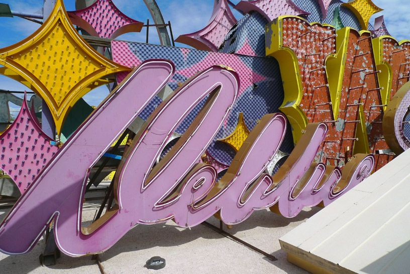 Neon Museum - just one reason why we heart downtown Las Vegas! #zappos