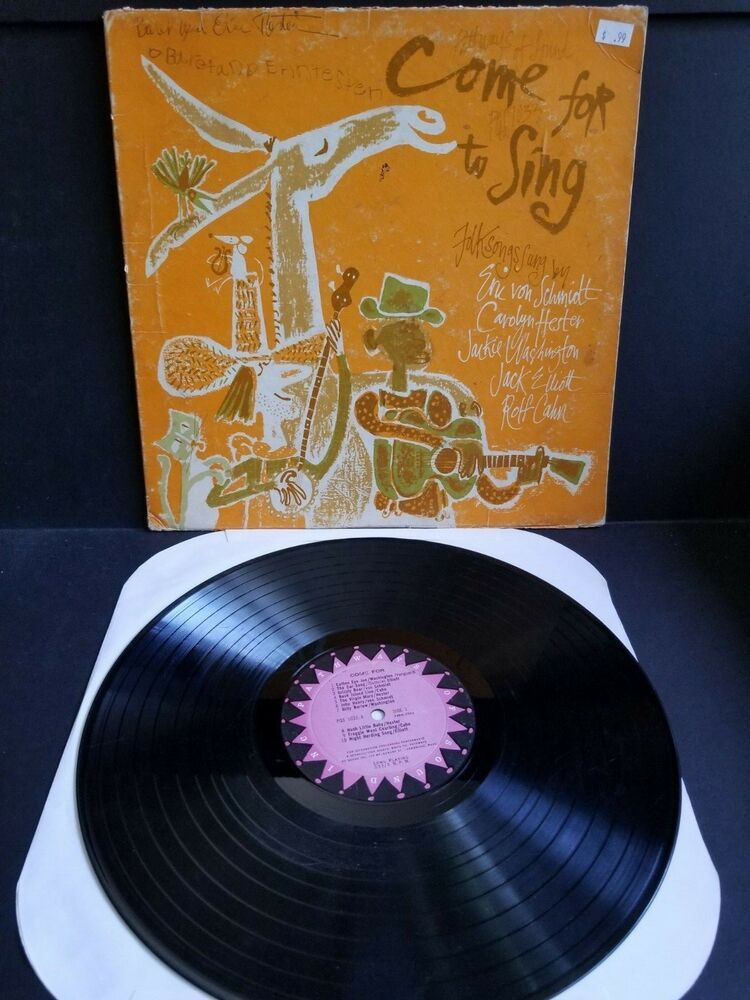 Come for to sing various artists vinylrecordlp