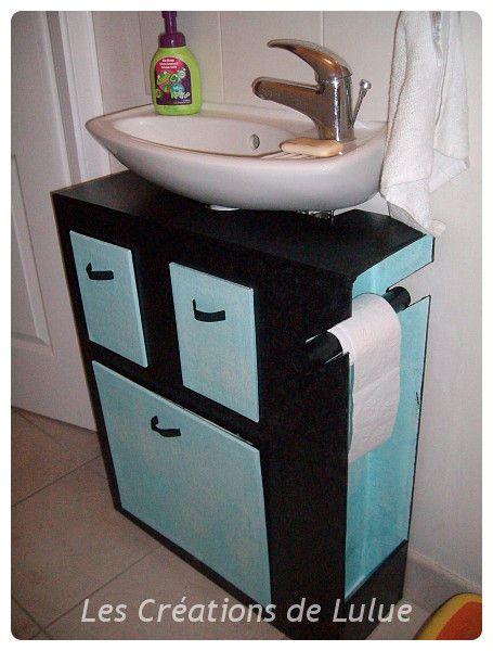 Meuble Wc Muebles De Carton Reciclar Cajas De Zapatos Carton