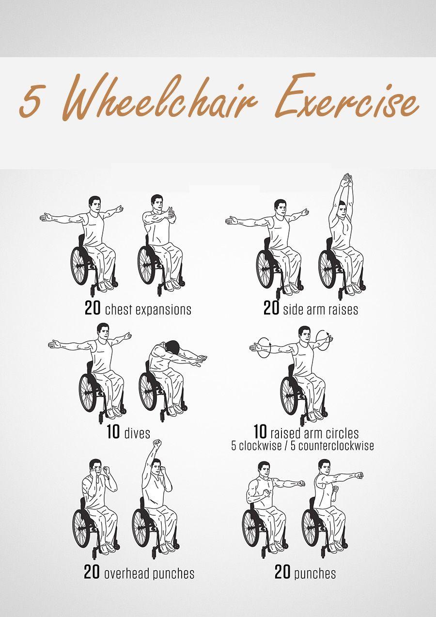 Wheelchair Exercise Printable Google Search Wheelchair Exercises Wheelchair Seated Exercises