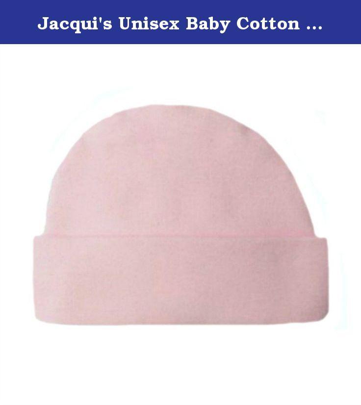 1174fd421 Jacqui's Unisex Baby Cotton Knit Capped Hats - Lots of Colors ...