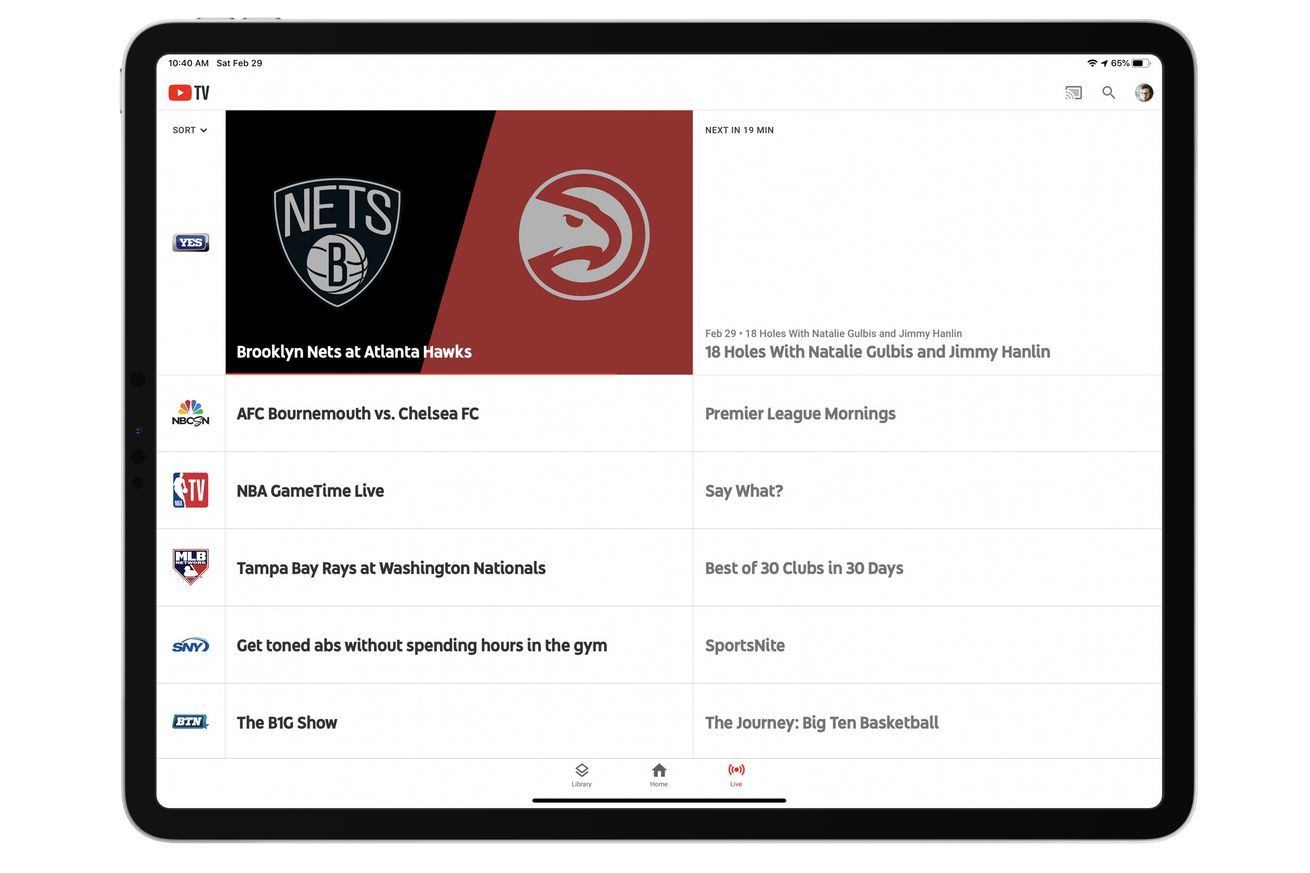 YouTube TV will keep streaming Fox RSNs and YES Network