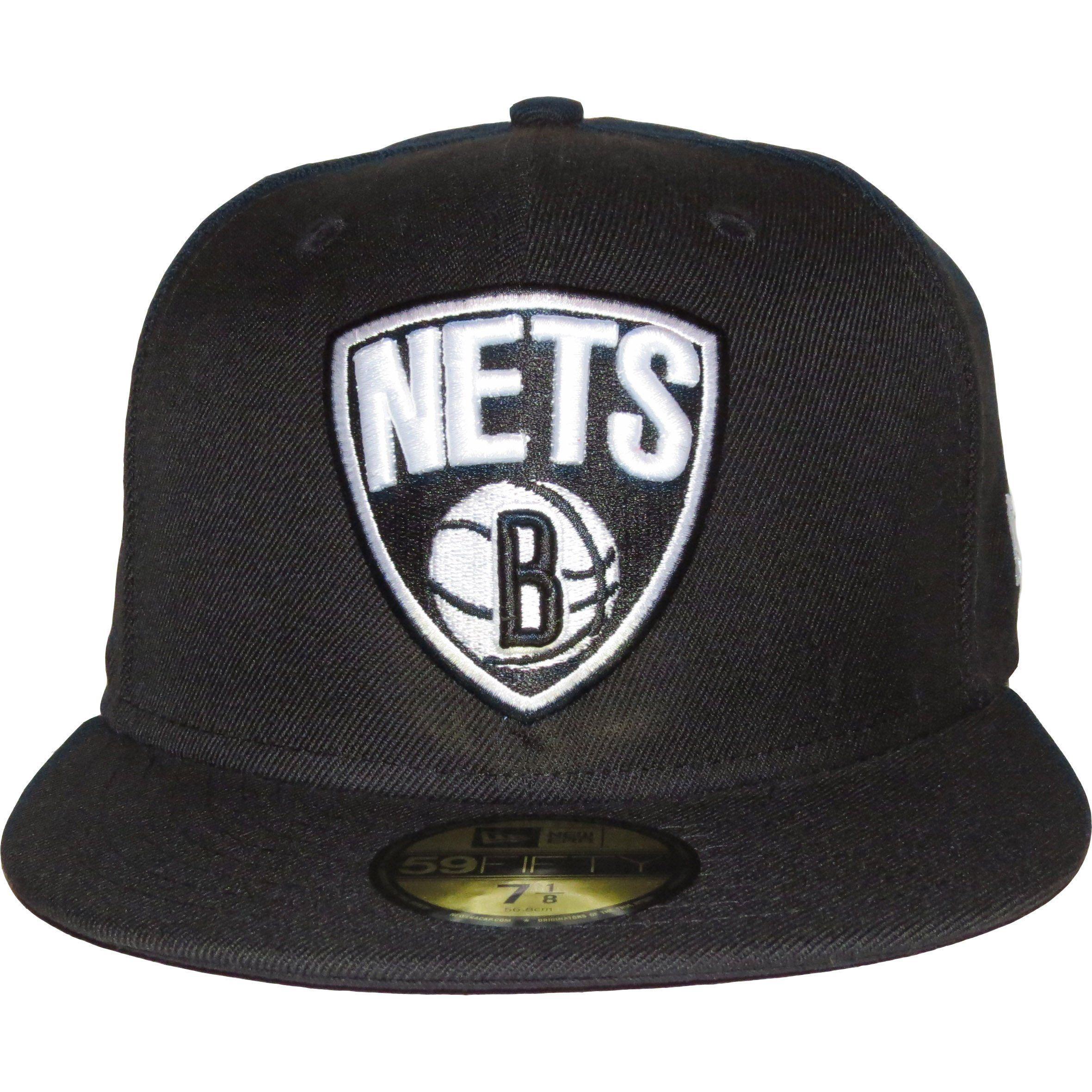 New Era 59Fifty NBA Team Basic 2 Brooklyn Nets Cap   New Era ... 6174282cde0