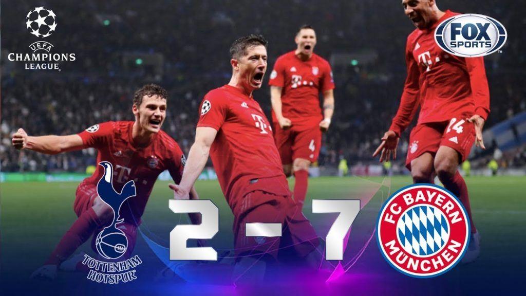 Goleada Assistir Aos Gols Lances E Melhores Momentos De Tottenham 2 X 7 Bayern De Munique Liga Dos Campeoes Futebol Stats Bayern Bayern De Munique Champions League
