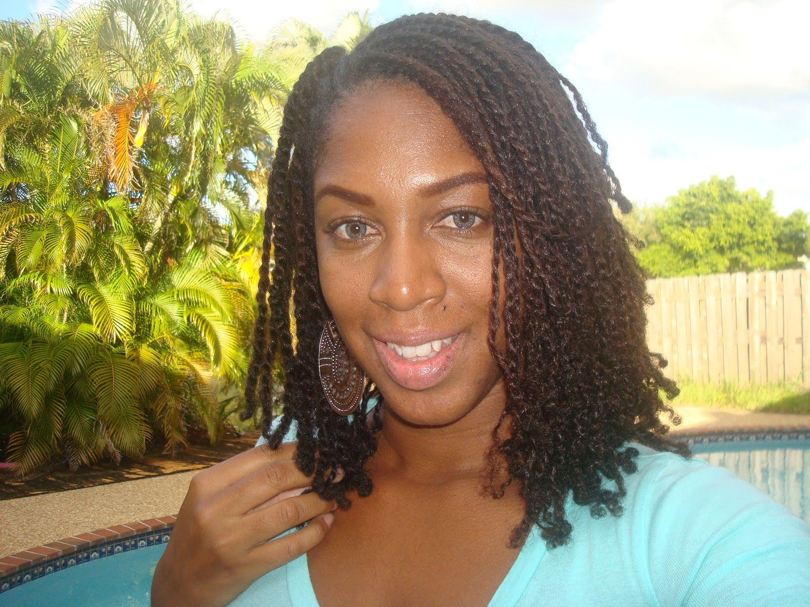 Mini Twists On Natural Hair Tips Amp Tricks To Two Strand