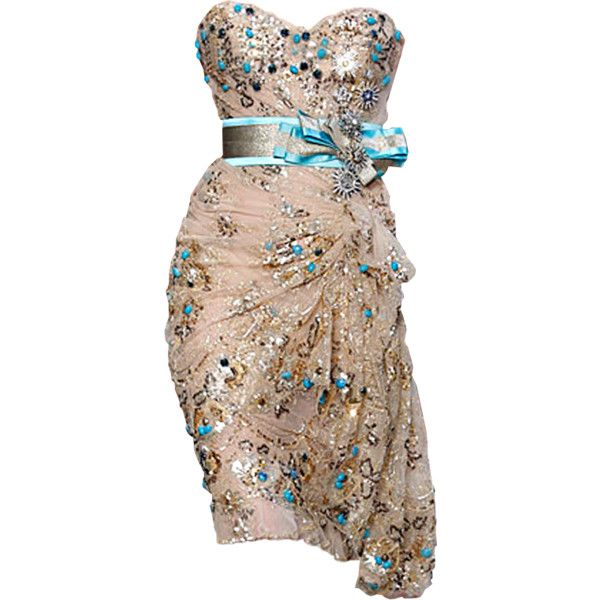 Zuhair Murad dress- by Satinee found on Polyvore