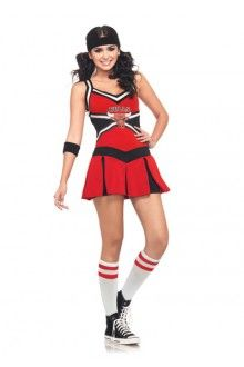 chicago bulls cheerleader adult costume for halloween pure costumes