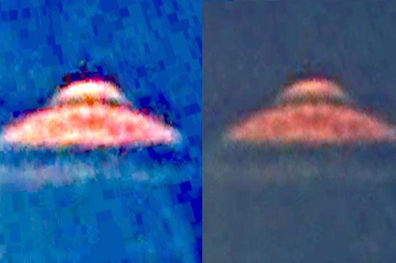 Waring also claims of spotting similar alien-controlled #UFOs via #Google #Earth.