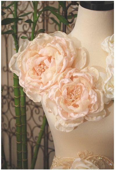 Handmade Silk Organza Flowers Inspiration Ideas I Fabric