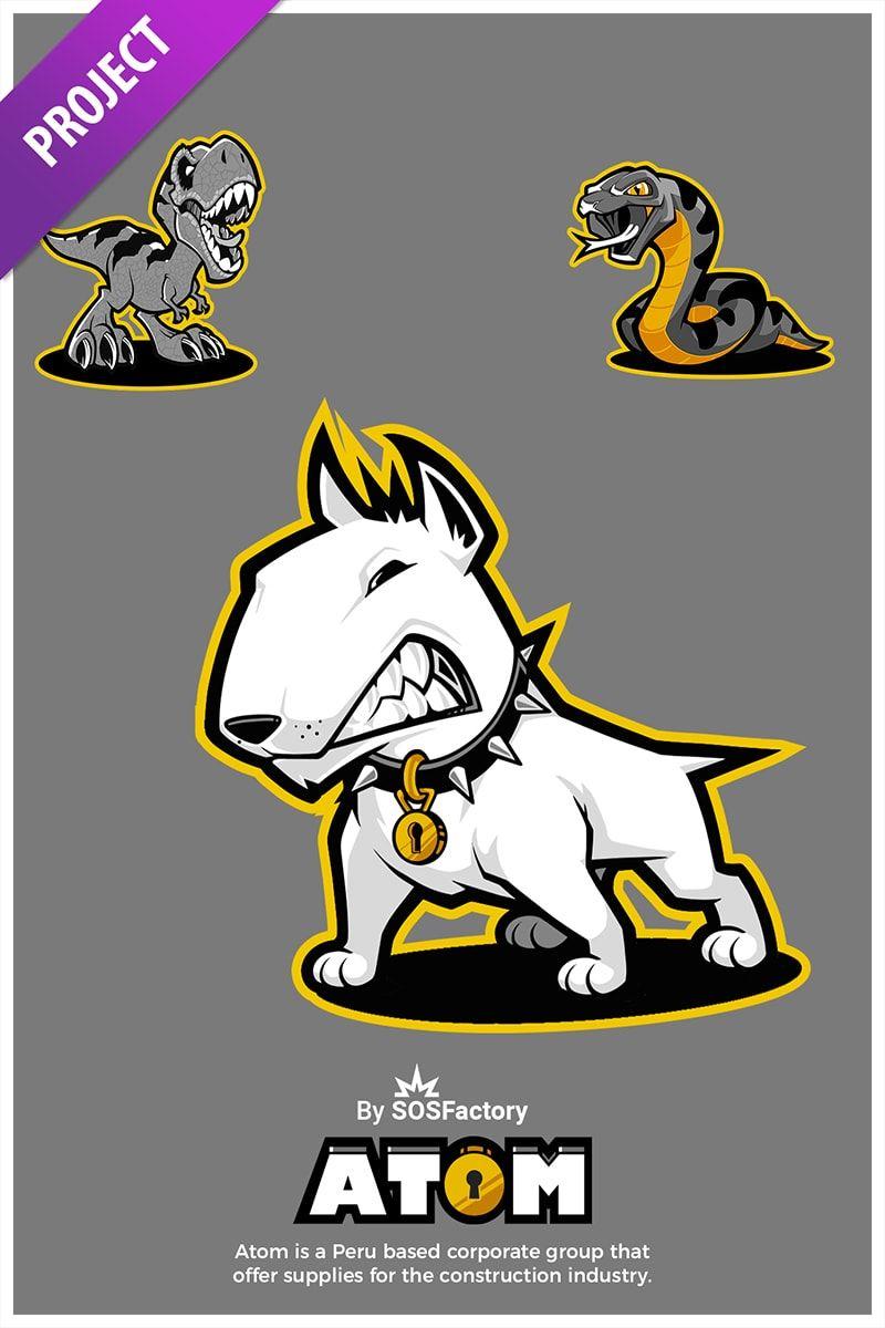 300 Mascot designs Challenge en 2019  aca2859d17d