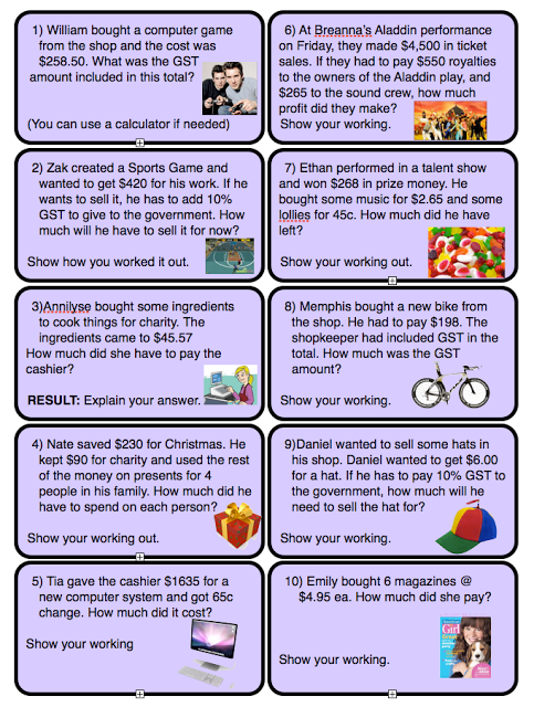 Pin by Lisa Laird on Stuff | Math, Math word problems ...