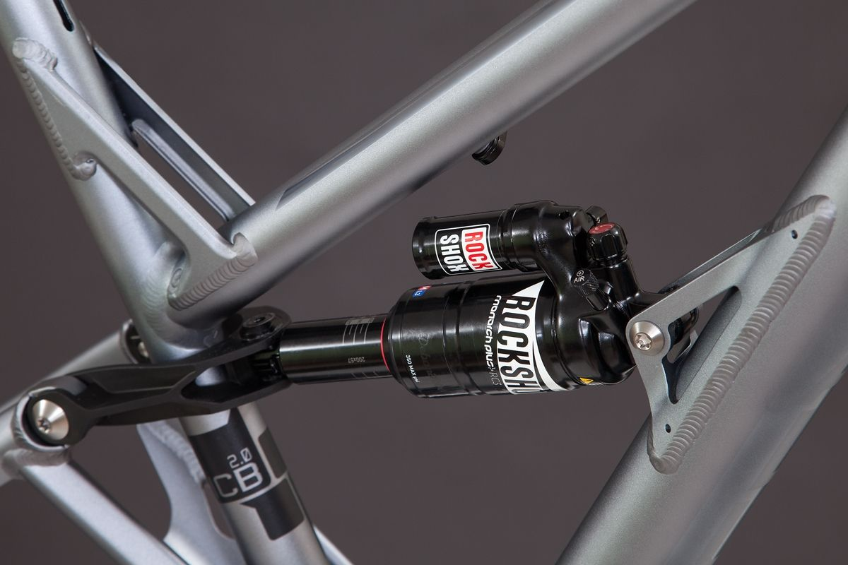 Alutech Icb 2 0 Frame Kit Titanium Anodized 1 449 00 Bike