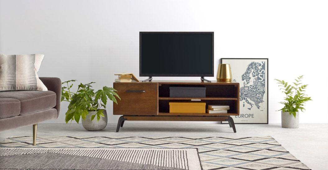 lucien meuble tv bois de manguier