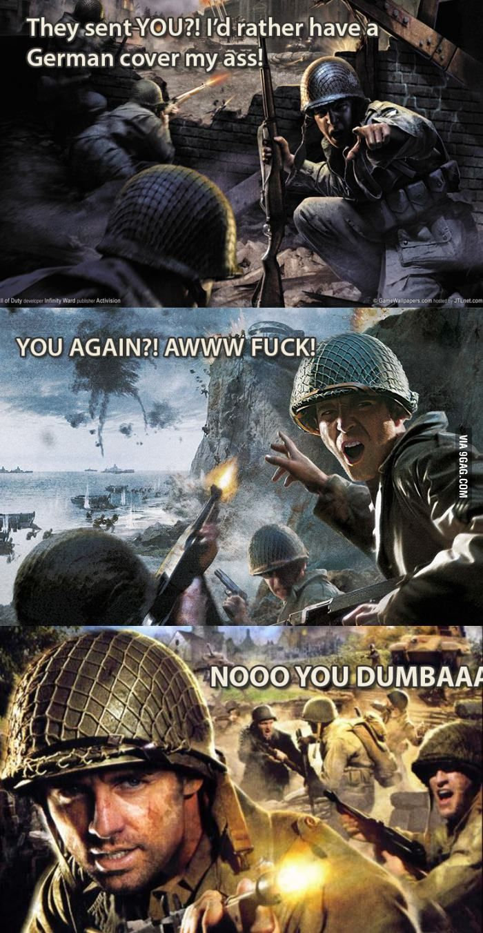 Call of Duty 1 - 3   funny   Free pc games, Call of duty