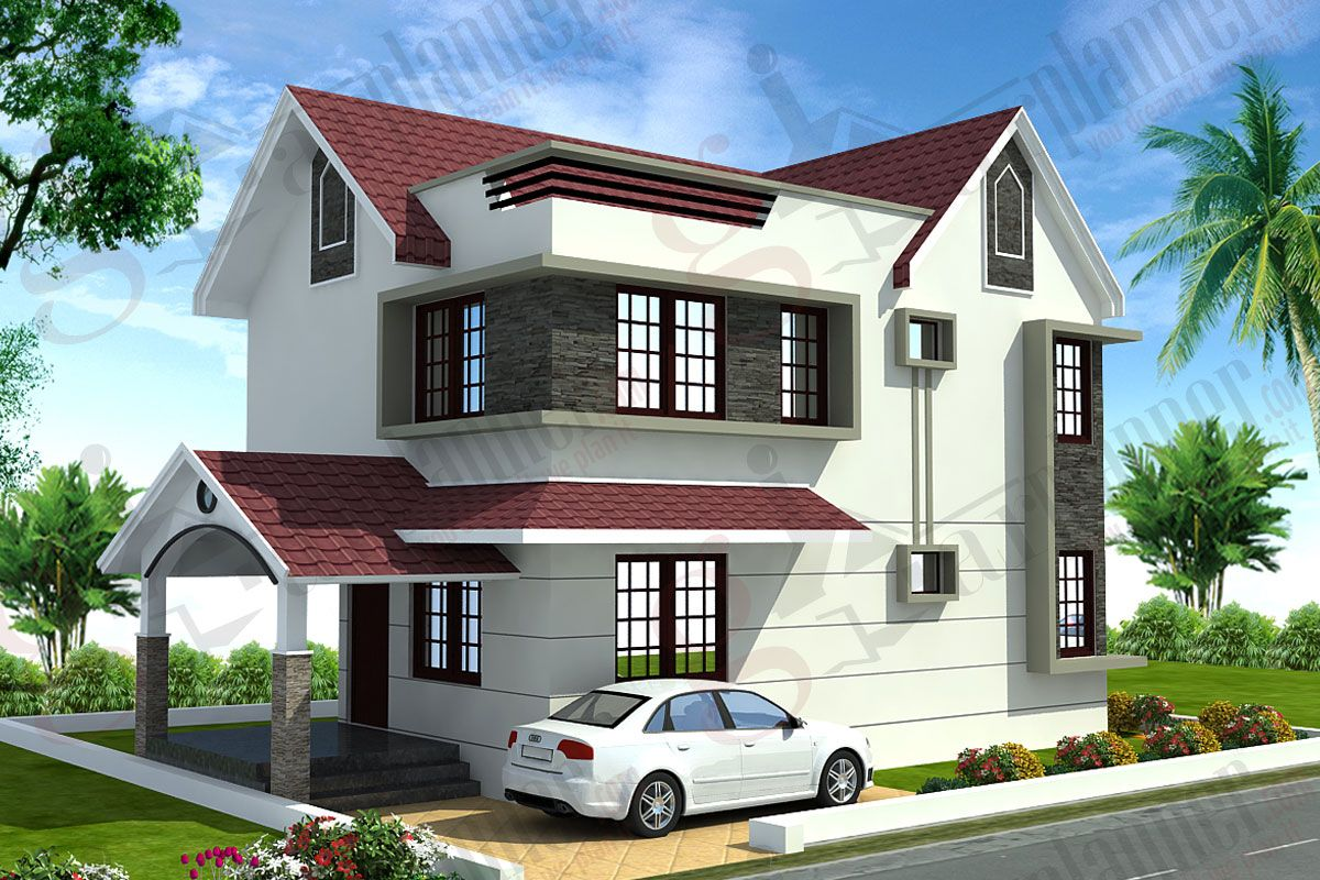 www.gharplanner.com project-details GPHP-0025.html | Casas ... on kitchen elevation design, japanese house design, small flat roof homes design, small southern home designs, small bedroom ideas design, building elevation design, small floor plan design, kerala house elevation design, indian house elevation design, goan houses design, small home kerala house design, small house front elevation, beautiful small house design, small 3 storey house design, villa elevation design, small house design tiny house, texas house elevation design, small house landscape design, small unique design, small house floor design,