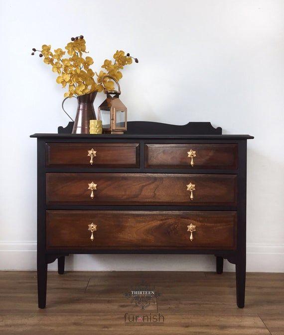 Dark Wood Furniture, How To Paint Furniture Dark Brown