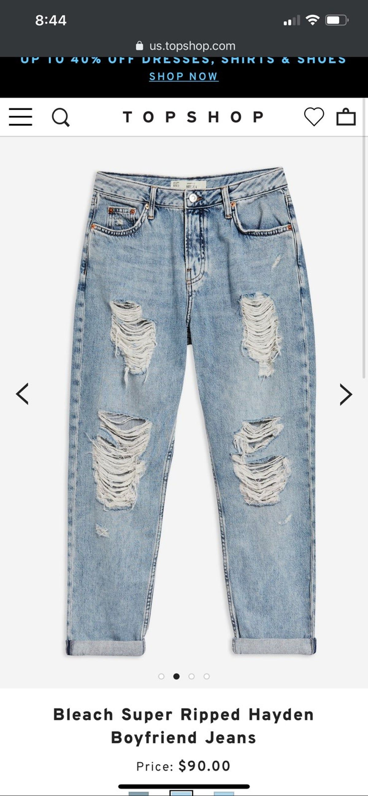 Topshop Moto Hayden Boyfriend Jeans 26 In 2020 Stylish Jeans Red Leather Pants Comfy Jeans Outfit