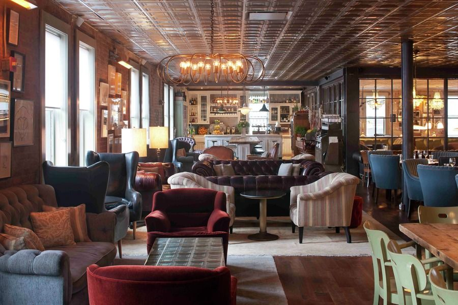 Soho House New York Interior