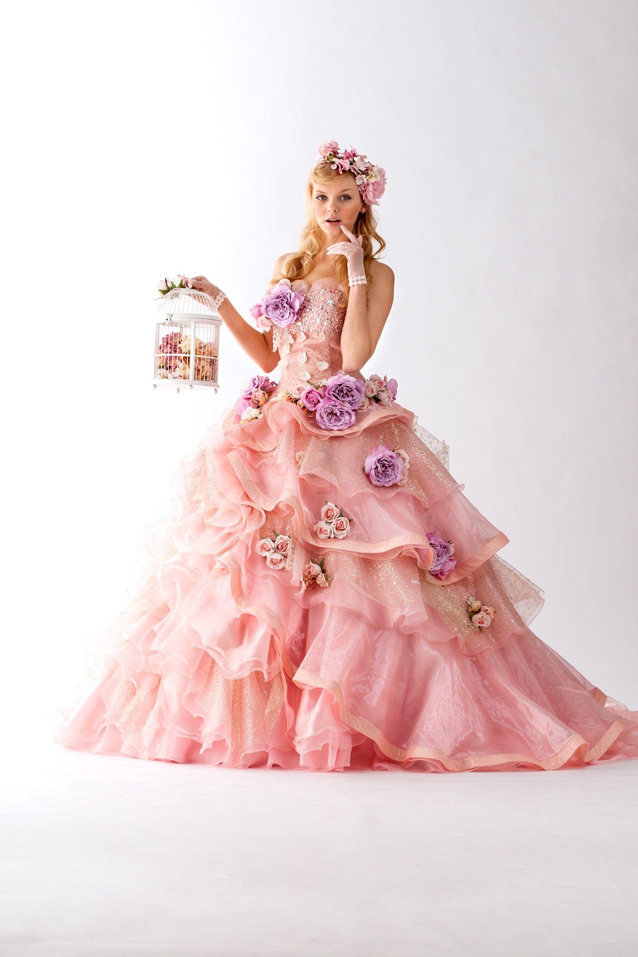 Flower Dress | Woman and Flowers | Pinterest | Accesorios de época ...