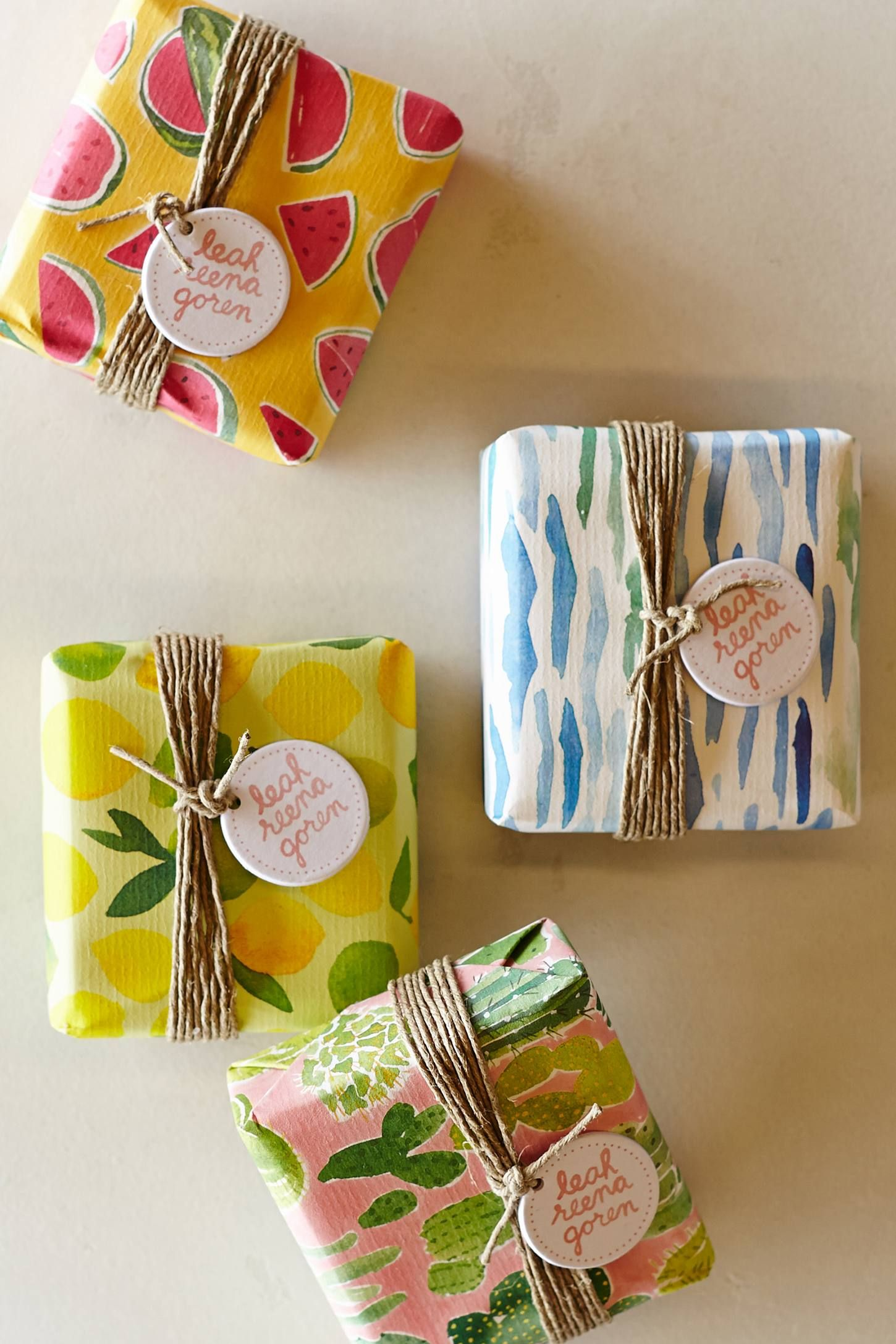 Idea envoltura regalos Gift Wrap Idea ideas Pinterest