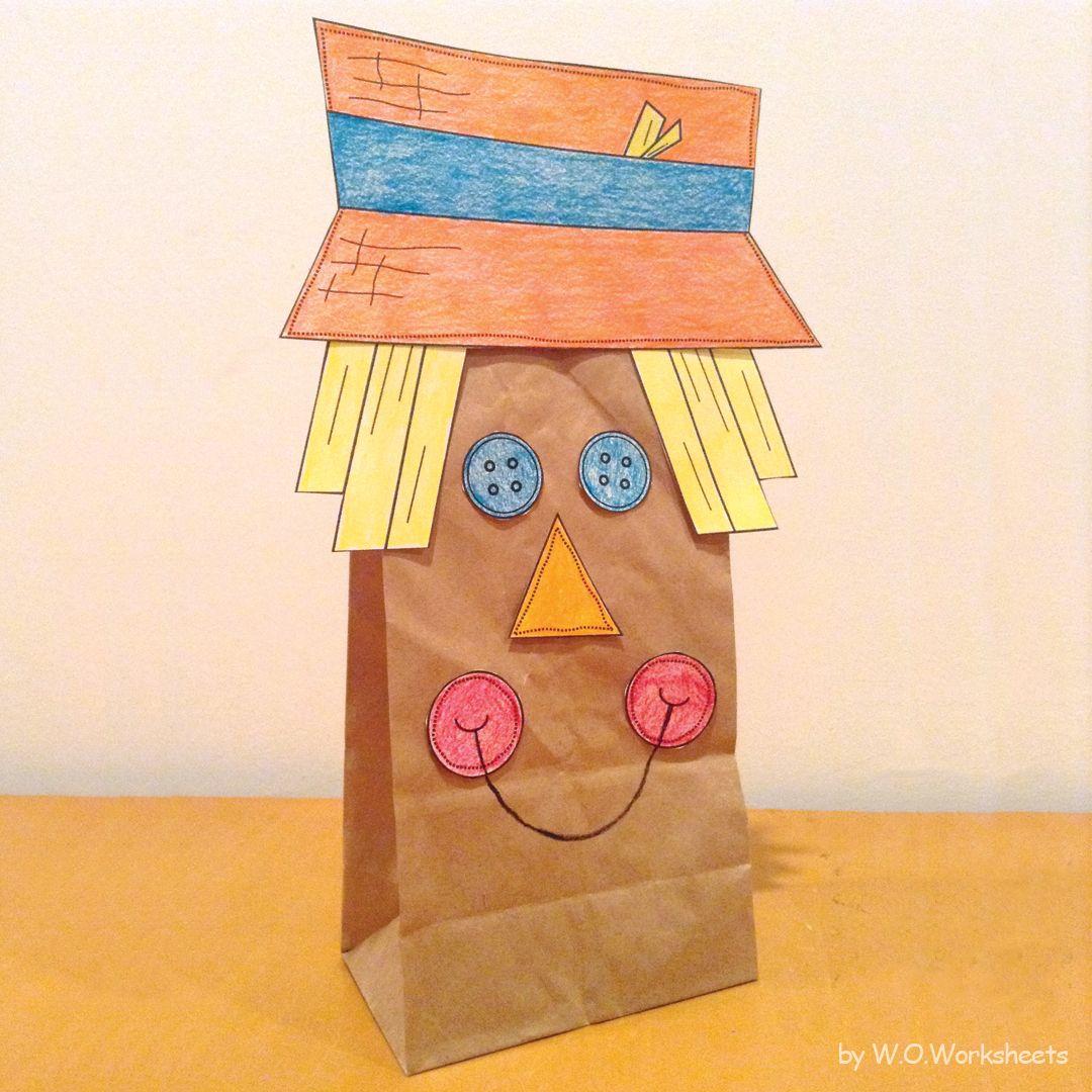 Cute Scarecrow Craft