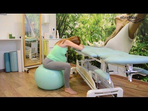 ejercicios con pelota para favorecer el parto