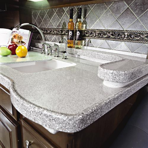 Polished Corian Countertop With Images