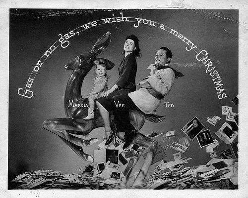 Weird Vintage Christmas Photos 1