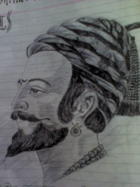 Chatrapati shivaji maharaj sketch