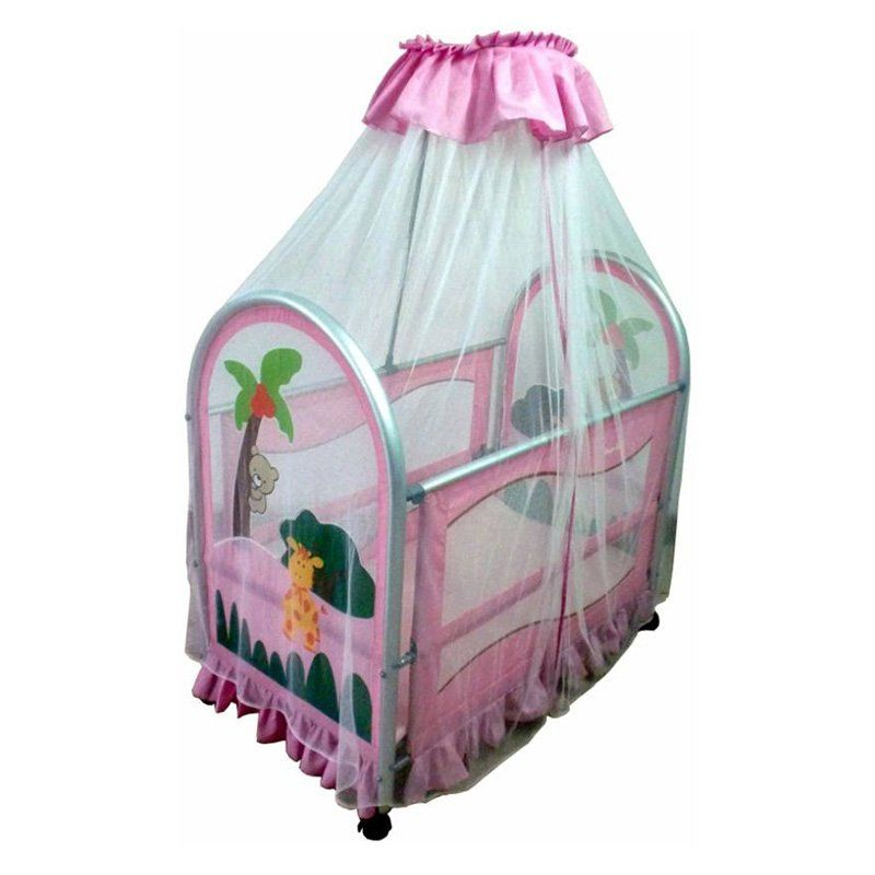 Have To Have It Dream On Me Cassidy Canopy Portable Crib
