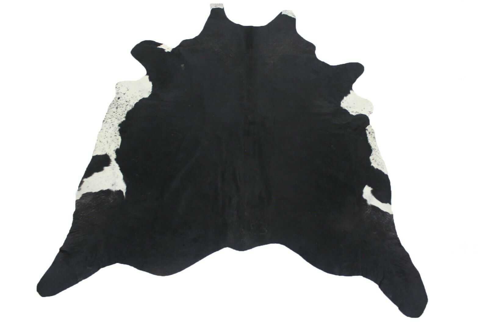 Details About Natural Cowhide Rug Belly White Large 6x7 Ft Cow Skin Area Rug Black And White Cow Skin Cowhide Cow Hide Rug