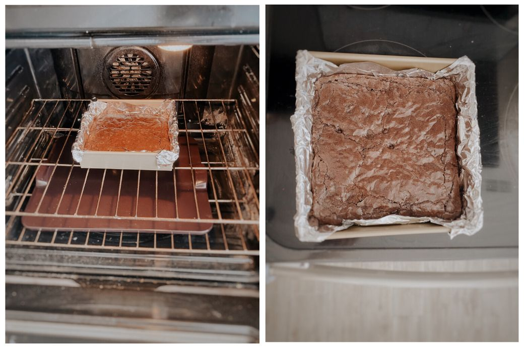 After 40 Minutes Take The Pan Out Of The Oven In 2020 No Bake