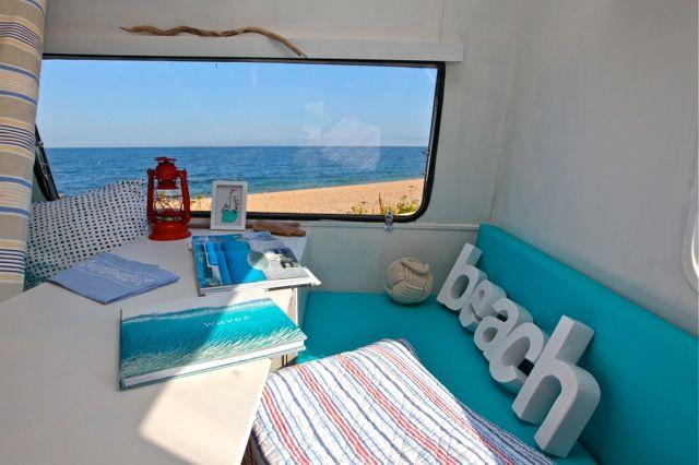 Decoraci n interior caravana vacaciones hollydays caravan - Interior caravana ...