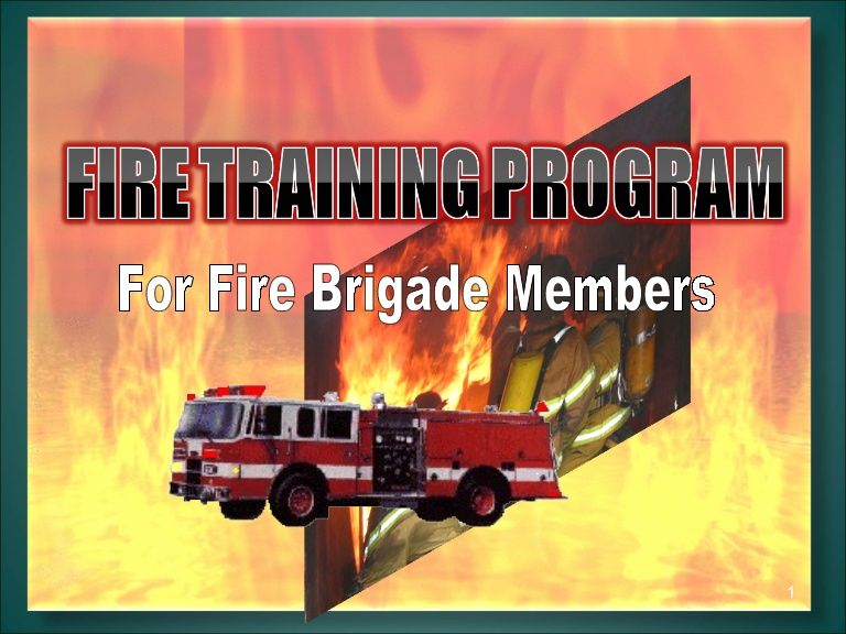 Basic Fire Fighting Training PPT | Firefighter | Firefighter
