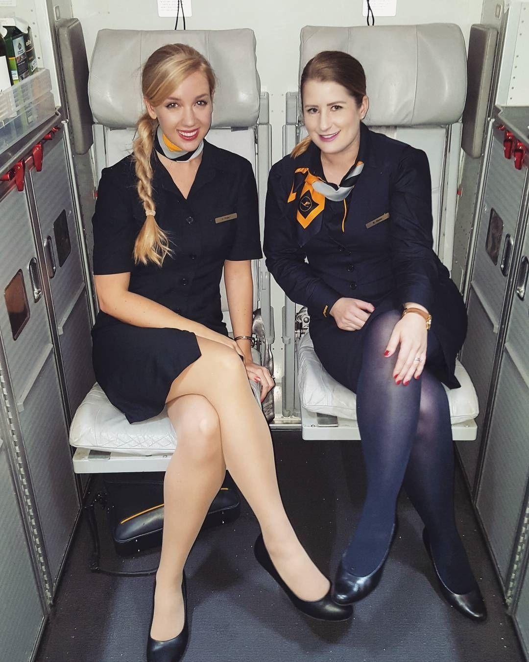 Pantyhose on a plane