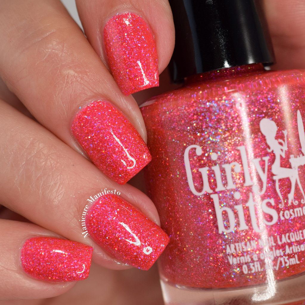 Girly Bits Brick House Swatch Www Girlybitscosmetics Com Manicure And Pedicure Hair And Nails Nail Polish