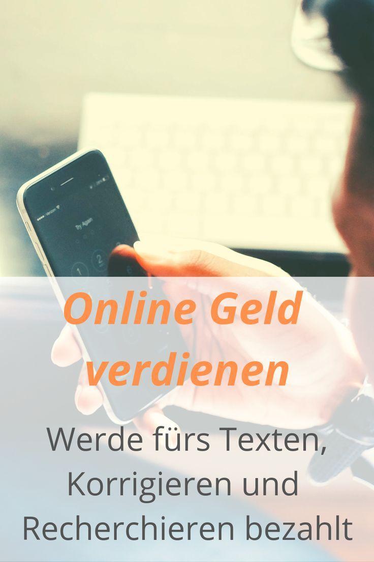 online texte korrigieren geld verdienen