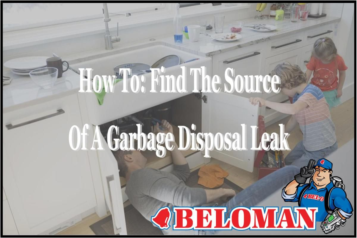 How To Find The Source Of A Garbage Disposal Leak Garbage Disposal Simple Solutions Plumbing Problems