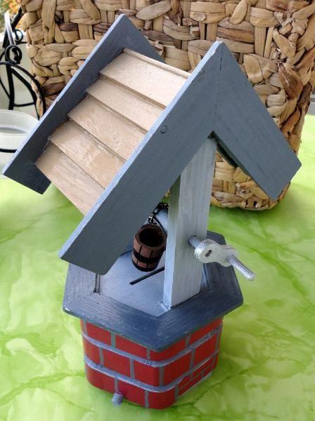 Brunnen Handarbeit Holz Handarbeit Basteln Kreativ