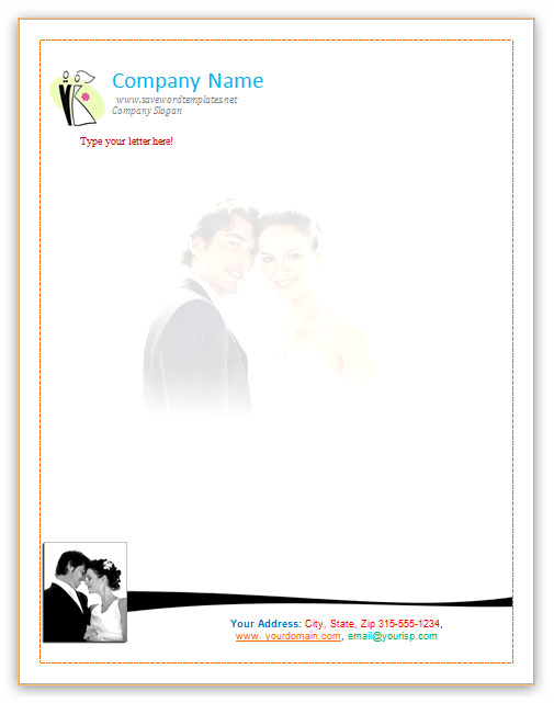 Wedding Letterhead Template Template I Liked For The Bibles 4 India