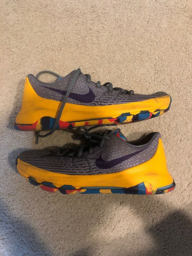 promo code 31c09 d054f NIKE Kevin Durant KD 8 Basketball Shoes PRINCE GEORGE 768867-050 Size 6.5Y   fashion  clothing  shoes  accessories  kidsclothingshoesaccs  boysshoes  (ebay ...