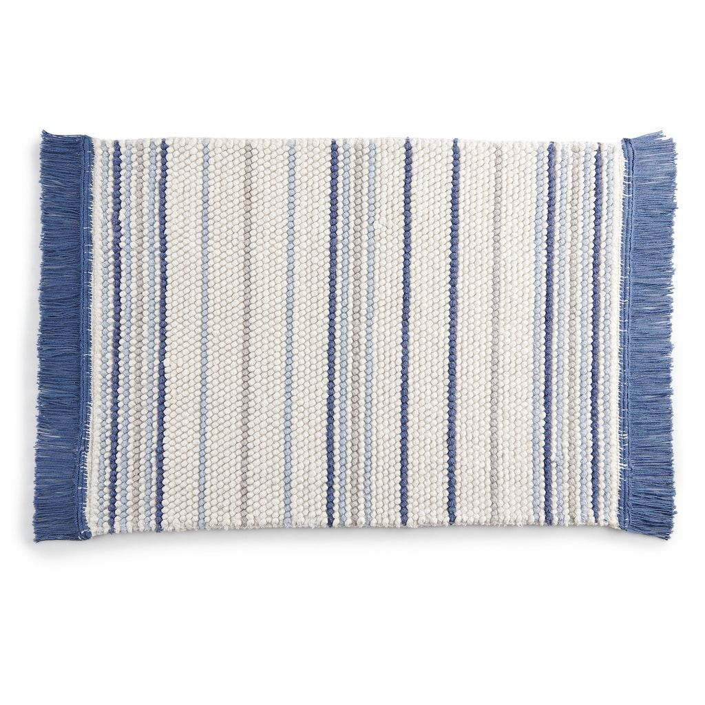 Sonoma Goods For Life Striped Bath Rug In 2019 Rug Sale