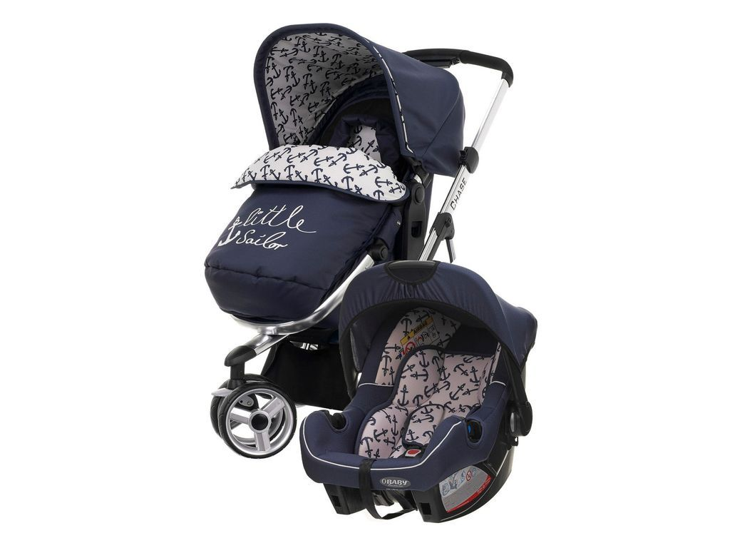 Obaby Chase Switch 2 in 1 Travel System Little Sailor